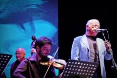 Franco Testa con Gino Paoli e Marcello Sirignano